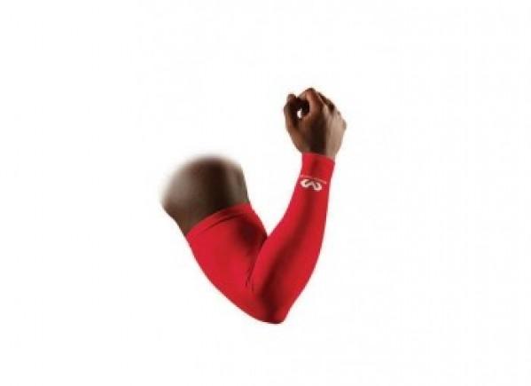 Stitnici za ruke crveni odbojka | Suterski rukavi kosarka McDavid